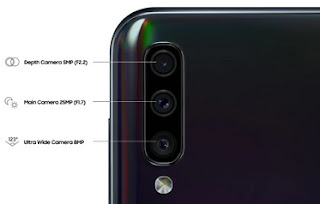 Spesifikasi kamera samsung a50