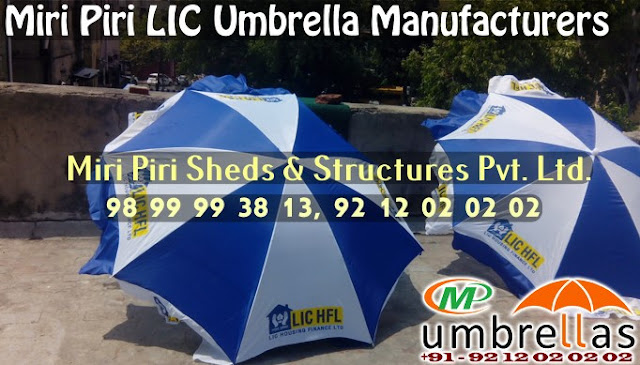 LIC Advertising Umbrella Manufacturers India; LIC  Umbrella; LIC Umbrella Manufacturers; LIC Promotional Umbrellas India, Suppliers, Delhi, India