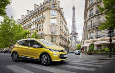 Ηλεκτρικό Opel Ampera-e