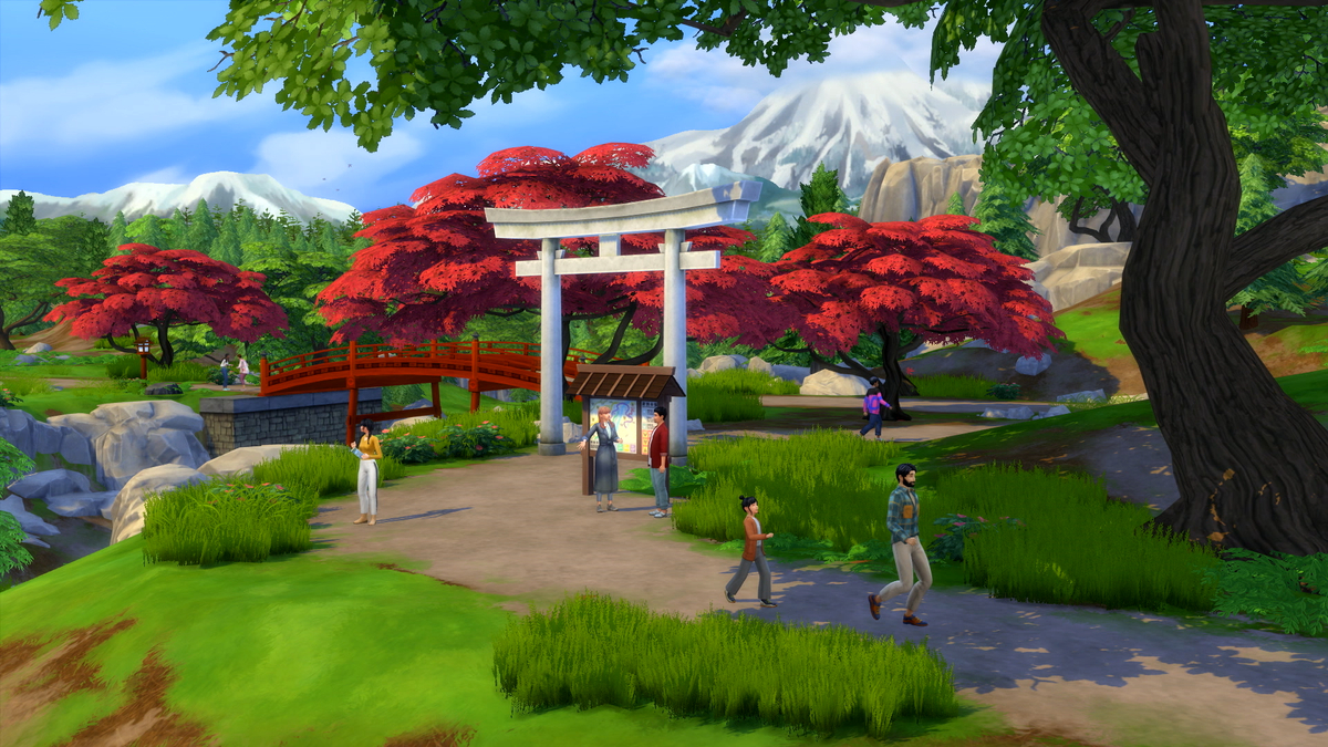 The SIMS 4 Add-On Review: Snowy Expanse screenshot 1