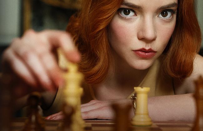 Miniserie de Netflix - Gambito de Dama