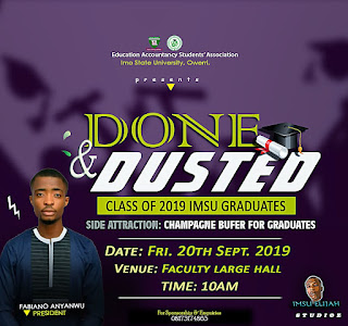 Education Accountancy Done And Dusted Seminar For Graduating Students Set To Take Center Stage In IMSU