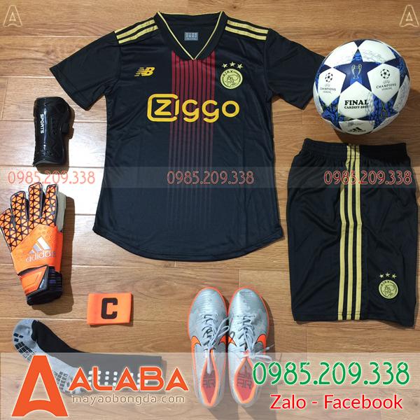 Áo CLB Ajax màu đen đẹp