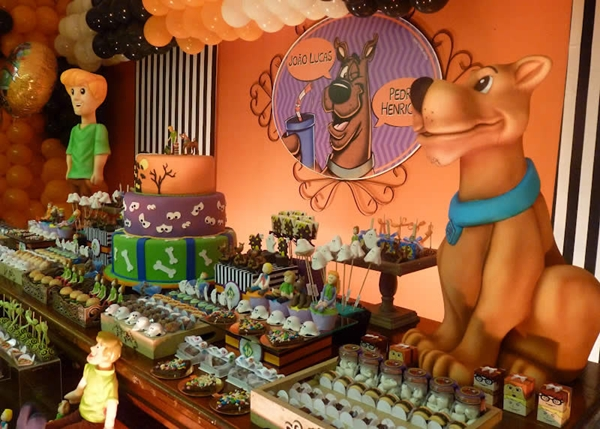 Scooby Doo Birthday Party Decorations: Scooby Doo Birthday Party Ideas, Scooby Doo Birthday Party