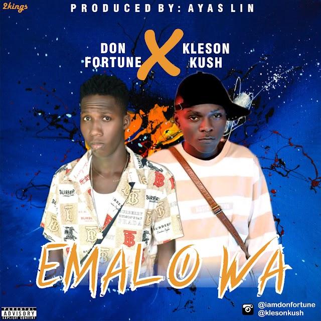[BangHitz] MUSIC: Don Fortune X Kleson Kush – Emalo Wa