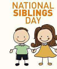 National Siblings Day Wishes Images