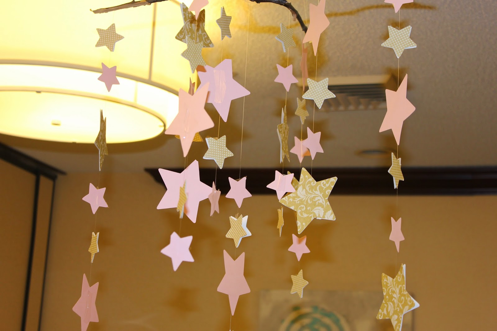 Shop Craft Bake Twinkle Twinkle Little Star Gold And Pink Baby Shower