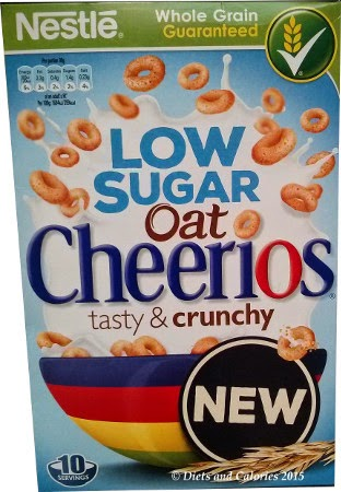 Low Sugar Cheerios box
