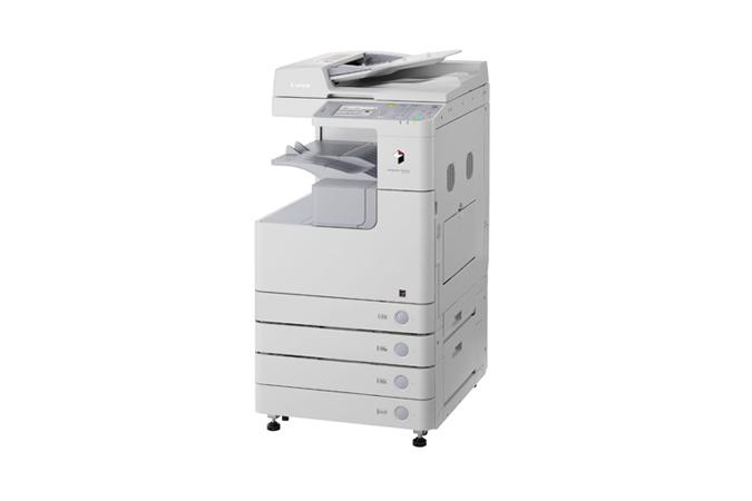 Canon imagerunner 2525 black and white multifunction printer/copier.
