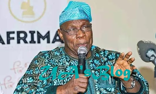 2019: What Obasanjo said about Buhari, Atiku, Obi in Nnewi