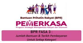 BPR Fasa 3: Jumlah Pembayaran & Tarikh Pembayaran Untuk Setiap Kategori -Semak Sini!