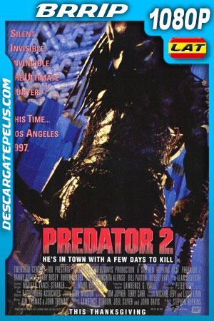 Depredador 2 (1990) 1080p BRrip Latino – Ingles