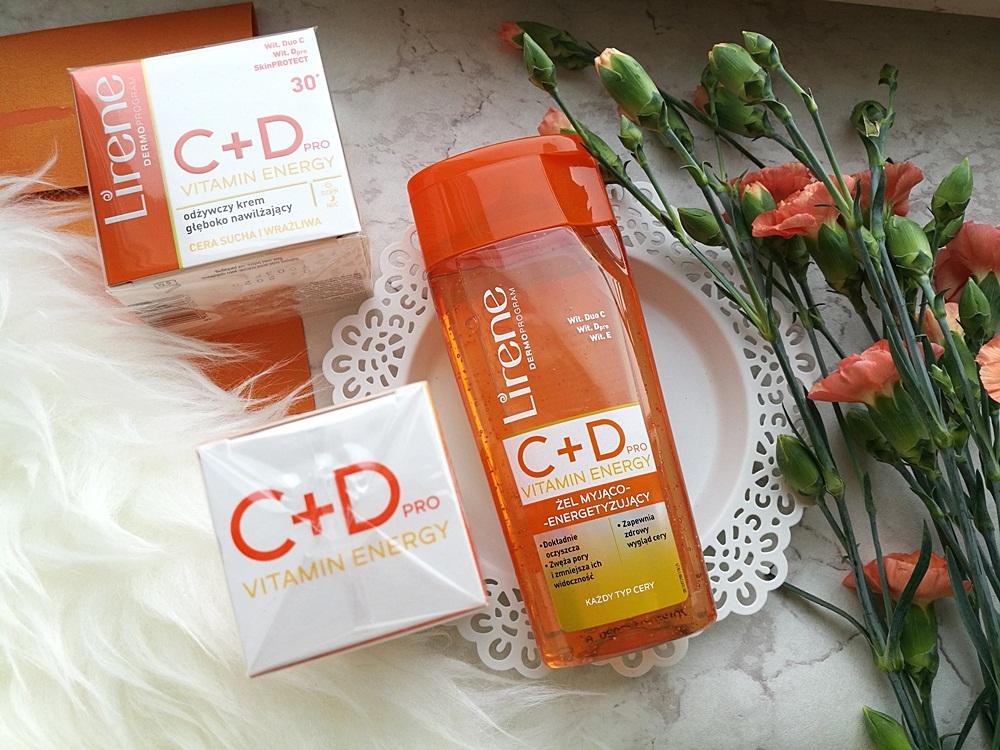Lirene, Vitamin Energy C+D Pro, Żel, serum i krem z nowej serii 30+