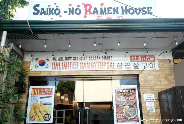 Looking For Japanese-Korean Foods in Pampanga? Saiko-No Ramen House Review