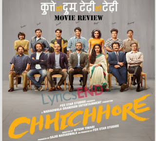 Chhichhore All Song Lyrics From Hindi Movie (2019)