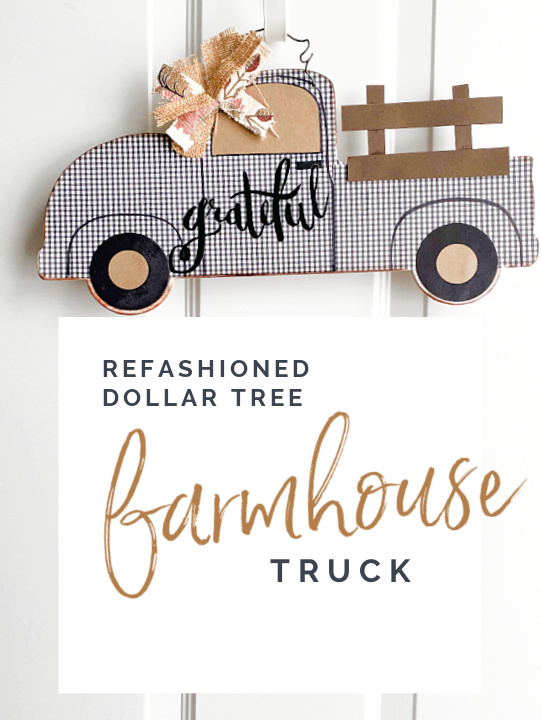 farmhouse truck Pinterest pin