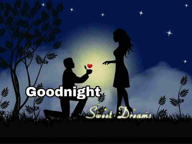 Beautiful romantic Good Night Image