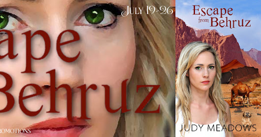 ***PROMO TOUR*** ESCAPE FROM BEHRUZ by Judy Meadows