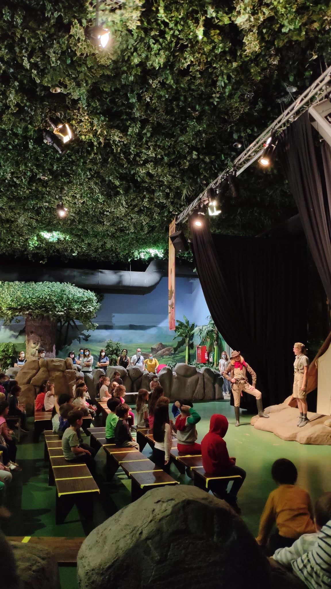 Espectáculo El Club de Los Paleontólogos