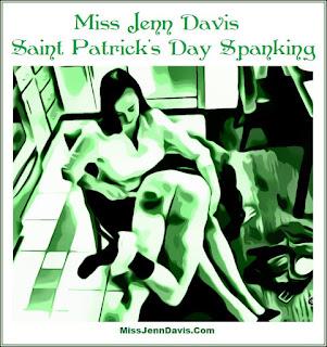 Saint Patrick's Day Spanking