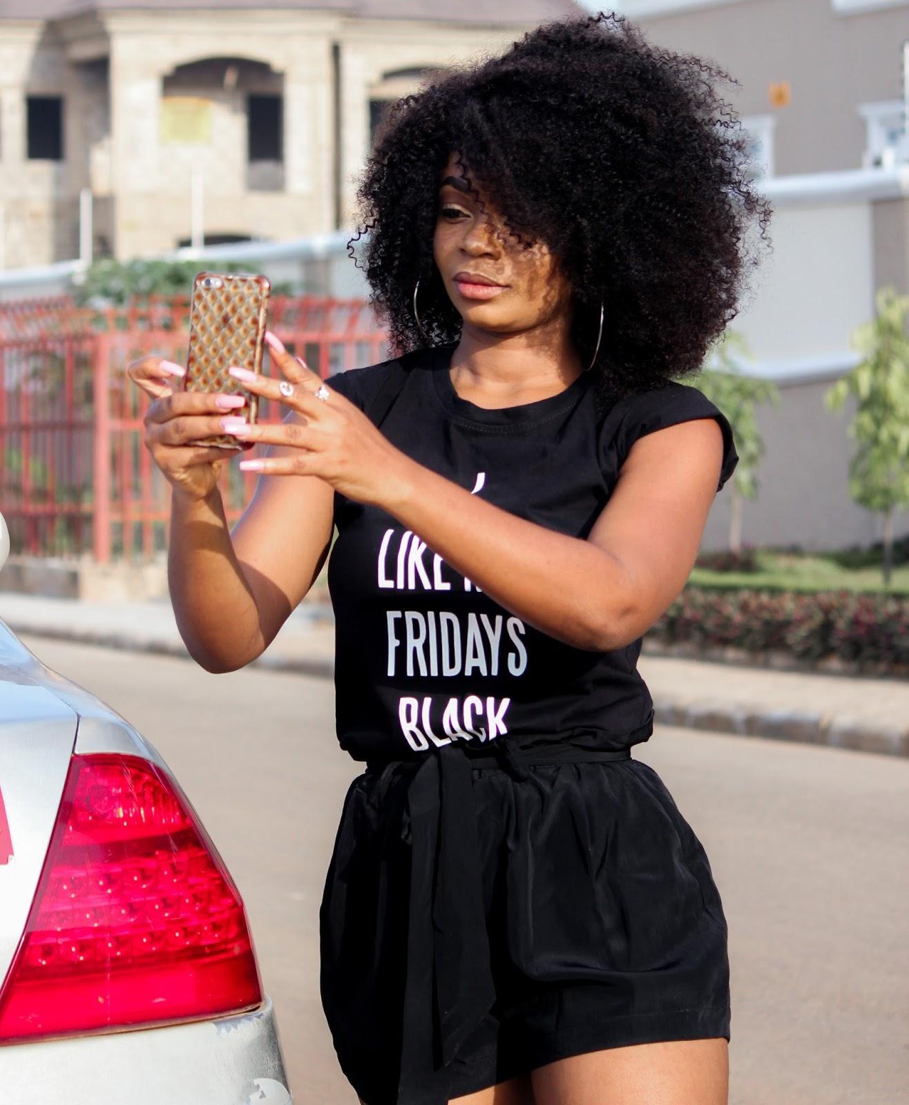 I LIKE MY FRIDAYS BLACK - JustPorshxJumia Black Friday Collaboration & Giveaway