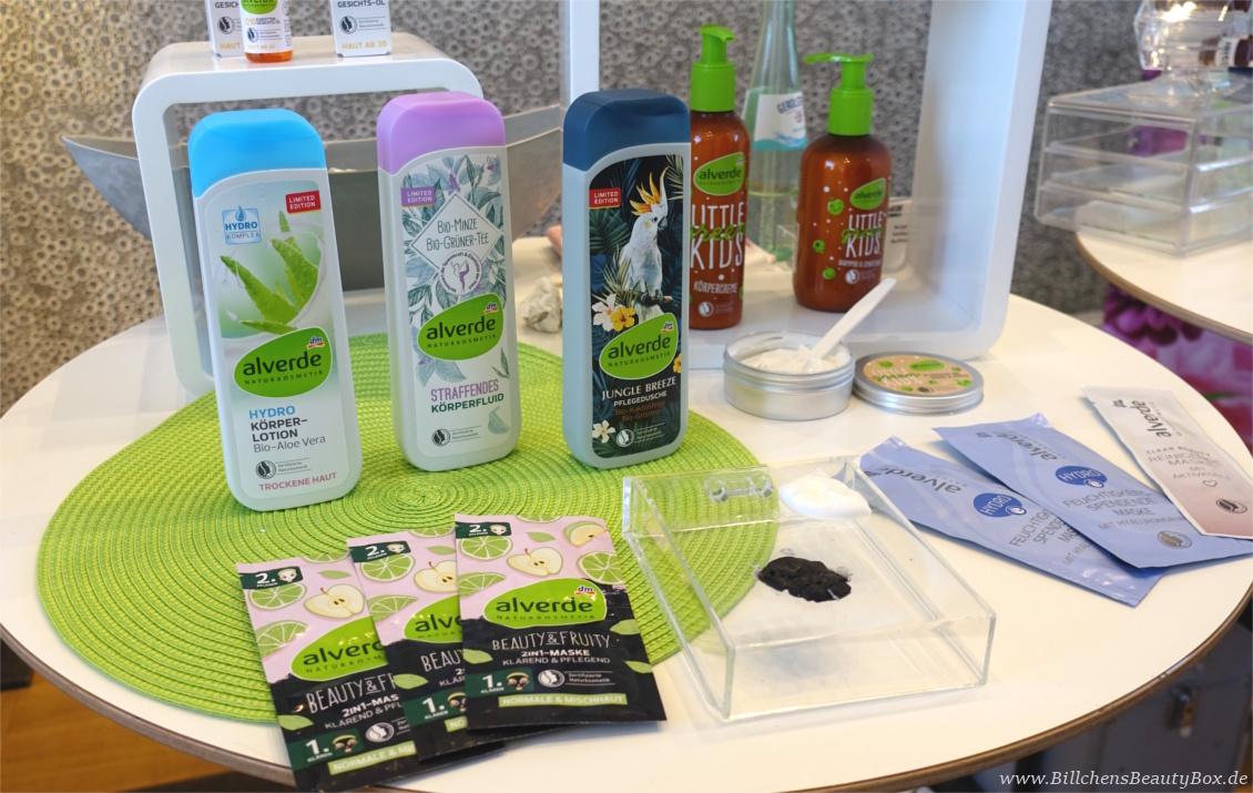 "beautypress ""Green cosmetics"" Naturkosmetik Bloggerevent - alverde Naturkosmetik Körperpflege"