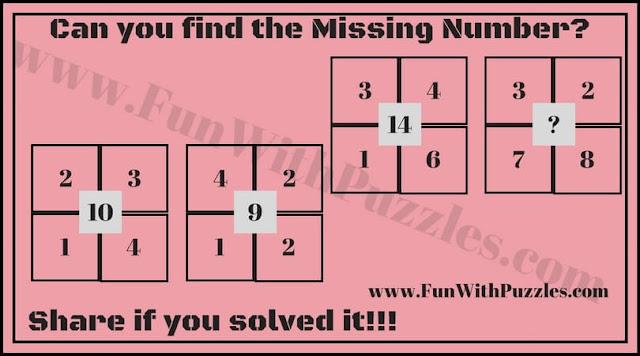Easy Maths Number Brain Teaser