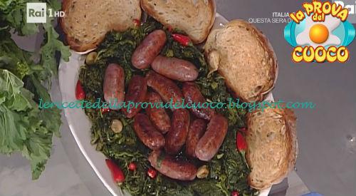Salsiccia e friarielli ricetta Serpe da Prova del Cuoco
