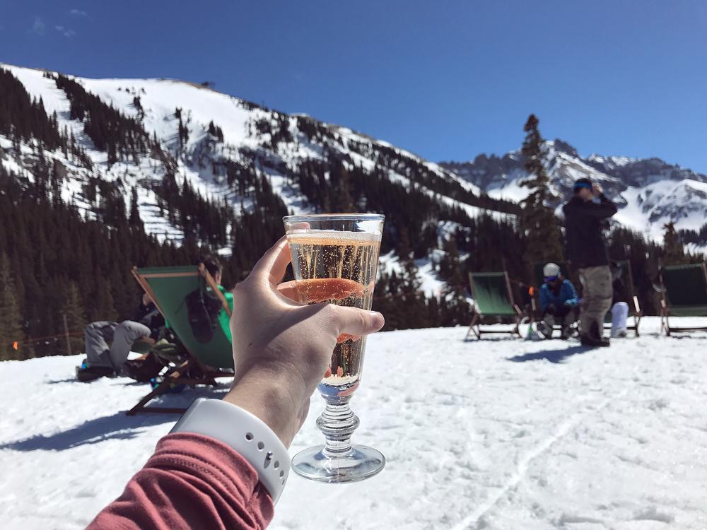 Apres Ski at Bon Vivant in Telluride, Colorado.