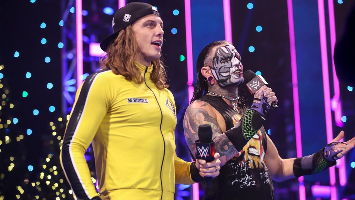 WWE pode ter grandes planos para Jeff Hardy e Riddle