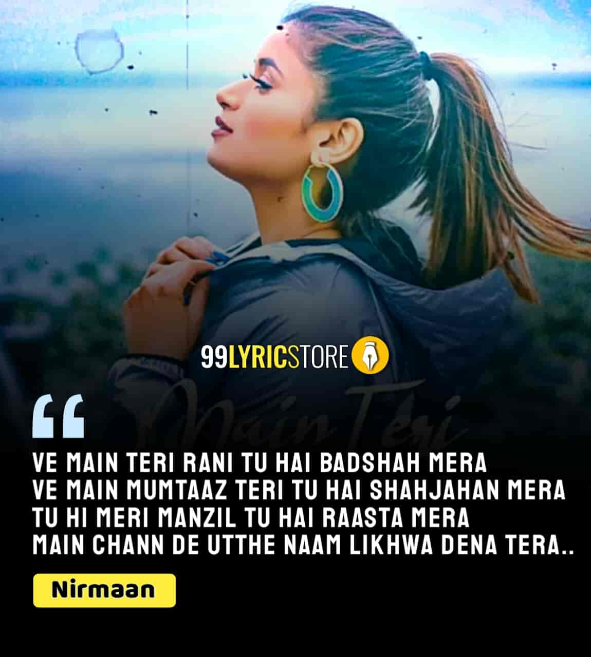 Shipra Goyal back with her beautiful track which titled 'Main Teri Rani'. This is a latest punjabi song in the voice Shipra Goyal. Music of this song given by Abhijit Vaghani while this new song Main Teri Rani Lyrics is Nirmaan. This song video presented by T-Series label.