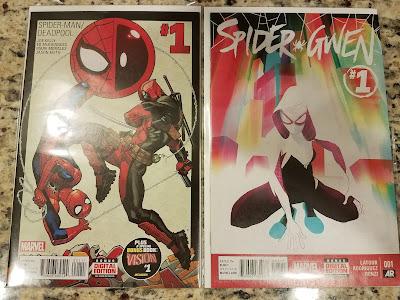 Spider-Man/Deadpool issue #1 & Spider-Gwen issue #1