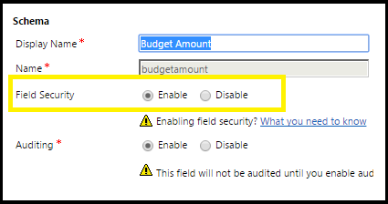 Field Security Behaviour In Calculated Fields