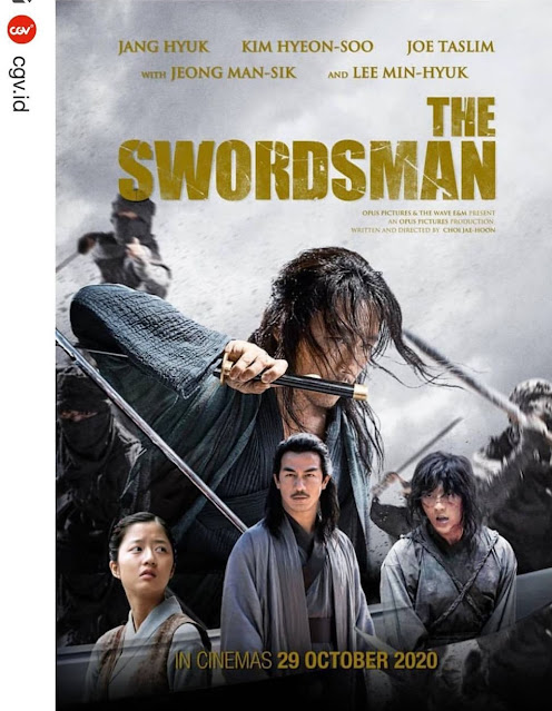 Poster Film The Swordsman 2020 KIFF Bandung