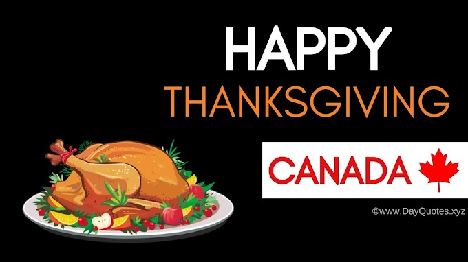 43+ [Best] Thanksgiving 2020 [CANADA]: Quotes, Wishes & Images, Poster
