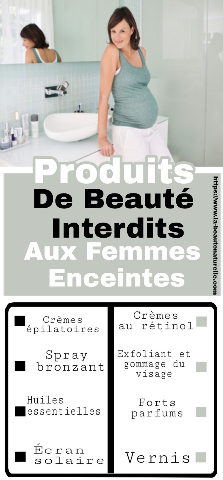 Produits De Beauté Interdits Aux Femmes Enceintes