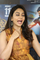 Rakul Preet Singh smiling Beautyin Brown Deep neck Sleeveless Gown at her interview 2.8.17 ~  Exclusive Celebrities Galleries 086.JPG