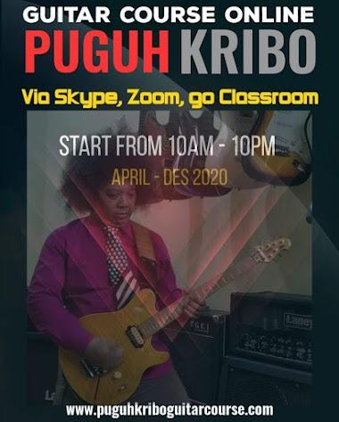 Belajar gitar Online bersama Puguh Kribo