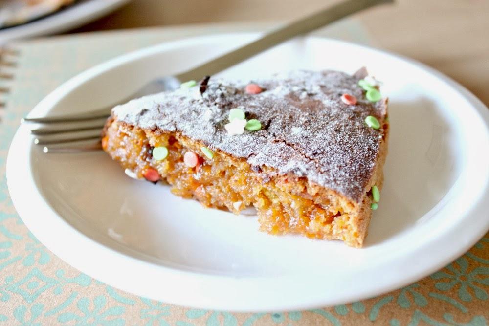 ciasto z marchewką i bez jajek