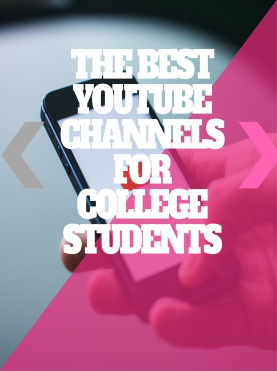 The Best Youtube Channels for College Student. Crash Course will help you understand the many courses you'll be taking in college. They've made various videos on World History, Biology, Literature, Ecology, Chemistry, Psychology, and US History and more.