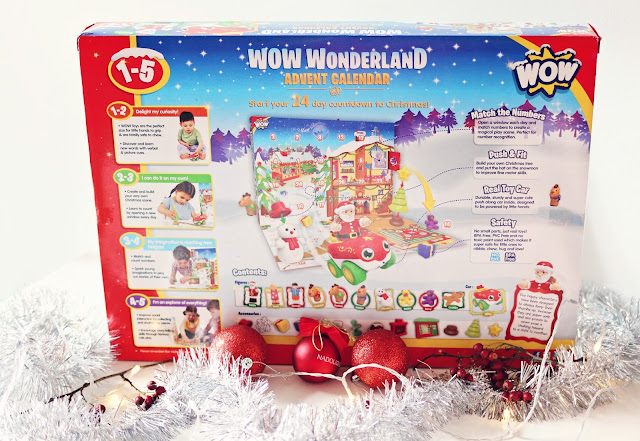WOW Wonderland children's toy advent calendar - blog post with a chance to win your own advent calendar via a rafflecopter giveaway form