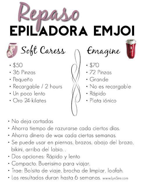 Epiladora Emjoi, Reseña Emjoi, Reseña Epiladora, Emjoi Emagine, Emjoi Soft Caress, Removedor de Pelo, Wax
