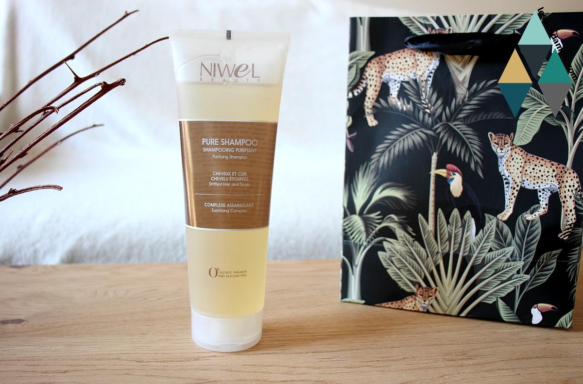 revue beauté shampooing purifiant detoxifiant pure shampoo niwel