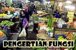 Pengertian Fungsi Pasar dan Jenis-Jenis Pasar Serta Contohnya