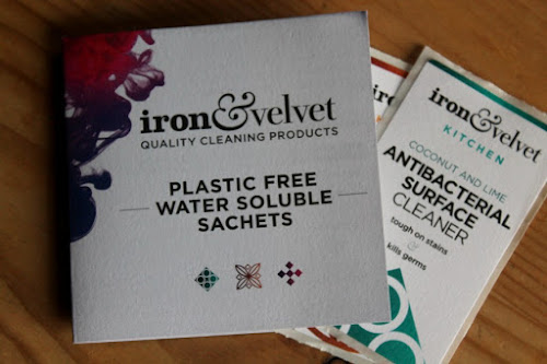 Iron & Velvet Cleaning Sachets