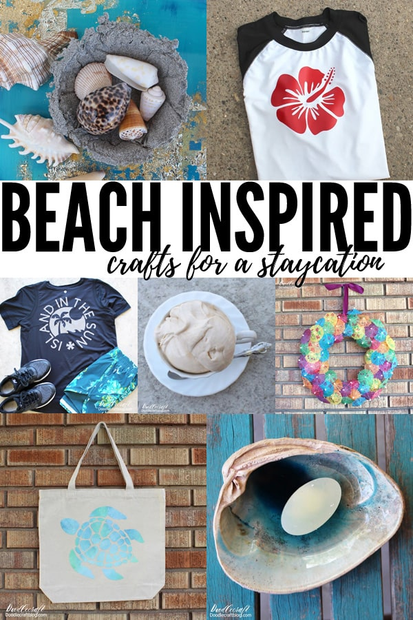 Beach Inspired Crafts for a Summer Staycation!