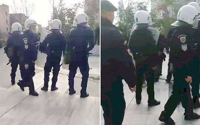 Αναρχικοί κατά αστυνομικών