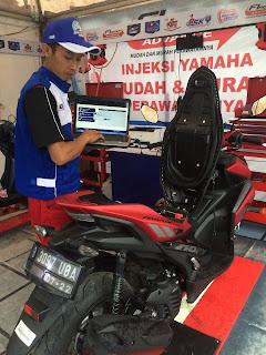 Servis rutin Yamaha