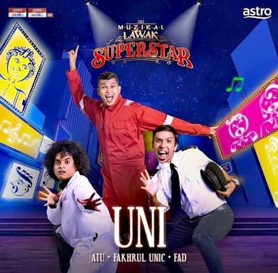 Muzikal Lawak Superstar Minggu 8 Full