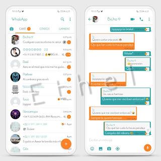 Light Tbl Theme For YOWhatsApp & GB WhatsApp By Ethel
